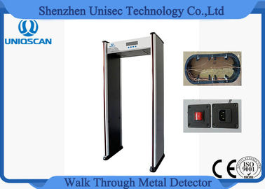12/18 Zone Lightweight Economic Full Body Metal Detector Door Frame 255 Sensitivity