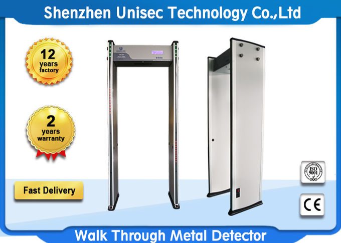 Economic and six mutual over-lapping detecting zones UB500 archway metal detector for any public security