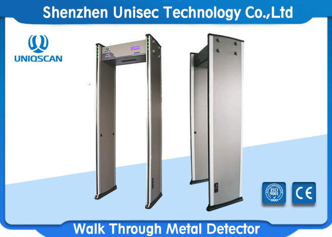 walk through metal detector UB600 with high density fireproof material and high sensitivity for metro and school.etc.